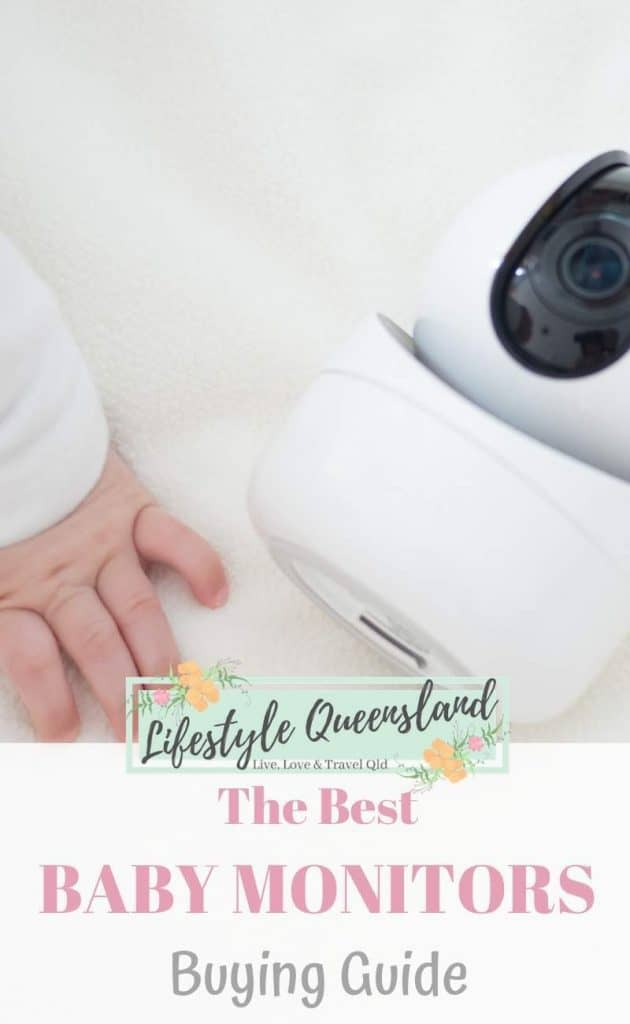 A Pinterest image of the best baby monitor
