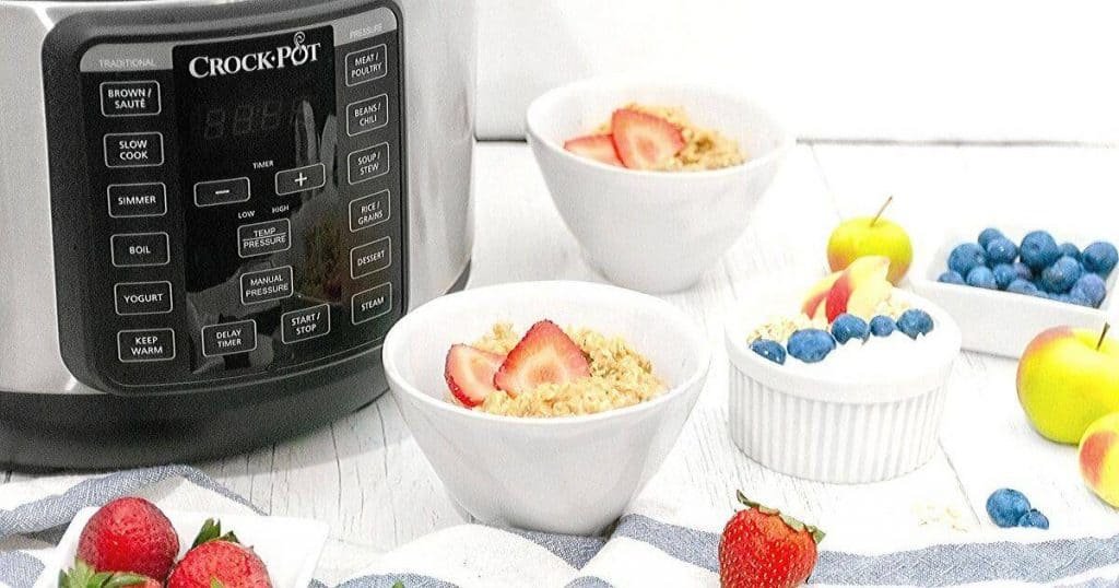 an image of best multi function cooker with some dessert ingredients