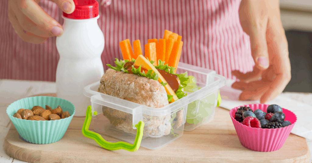 an image of the best bento lunch box with some delicious food