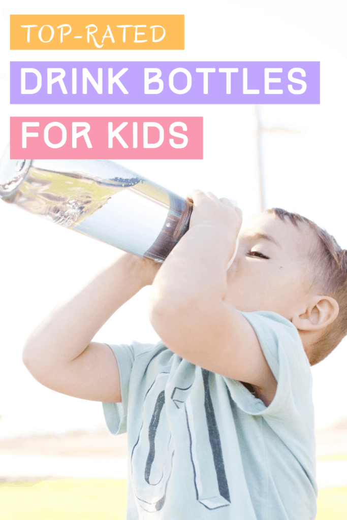 Child drinking from the best toddler water bottle, Australia offers
